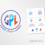 game-play-learn-logo-design